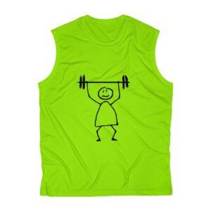 Workout Men's Sleeveless Performance Tee