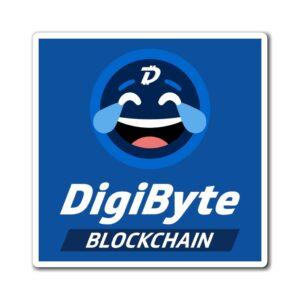 DigiByte Memes Magnet