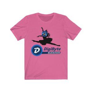 DigiByte Memes Ballet Leap T-shirt