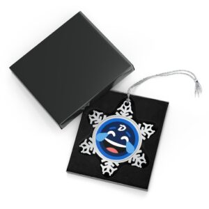 DigiByte Memes Pewter Snowflake Ornament