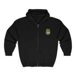 CORD.Finance Full Zip Hooded Sweatshirt