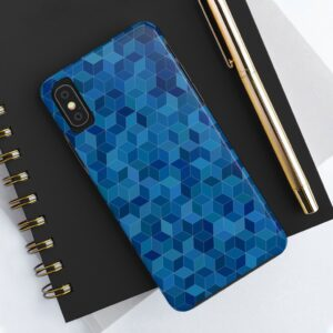 Blue Pattern Case Mate Tough Phone Cases