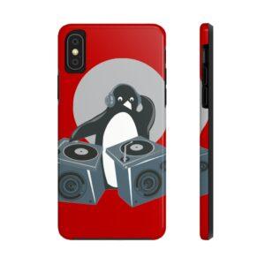 Penguin DJ Case Mate Tough Phone Cases