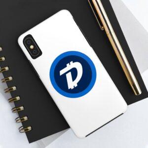 DigiByte Logo (WHITE) Case Mate Tough Phone Cases