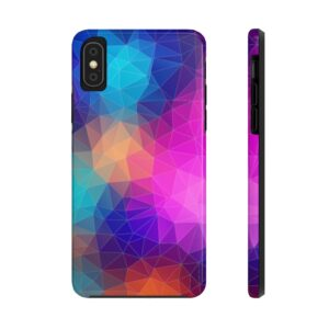 Colorful Triangles Case Mate Tough Phone Cases