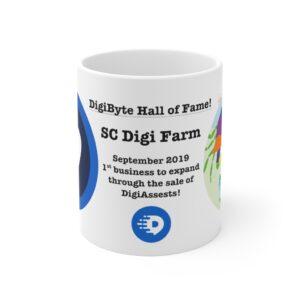 SC Digi Farm Commemorative Mug 11oz