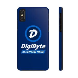 DigiByte Accepted Here Case Mate Tough Phone Cases