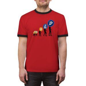 DGB 'Evolution' RETRO T-shirt