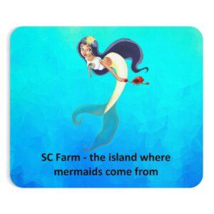 SC Digi Farm Mermaid Mousepad