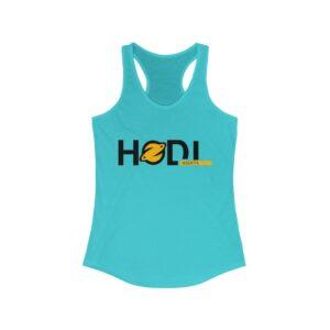 HODL Assets Women's Ideal Racerback Tank