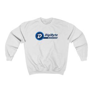 DigiByte Blockchain Long Sleeve Sweatshirt