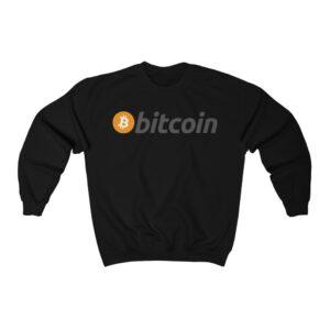 Bitcoin Long Sleeve Sweatshirt