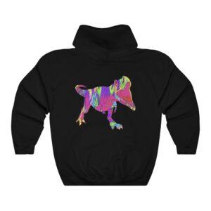 HODL Assets Dinosaur Black Hoodie