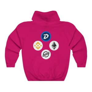 HODL Assets Hoodie with Blockchain Logos!