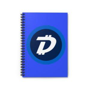 DigiByte Logo Spiral Notebook – Ruled Line