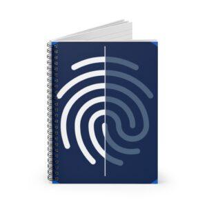 Digi-ID Spiral Notebook – Ruled Line