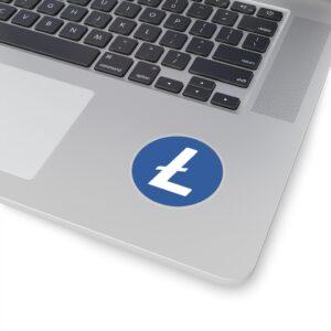Litecoin Logo Kiss-Cut Stickers