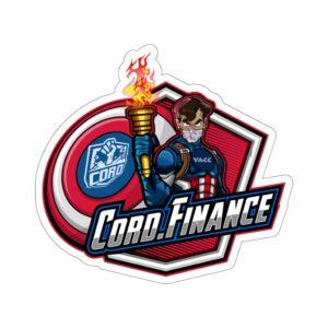 CORD.Finance Kiss-Cut Stickers