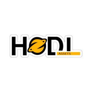 HODL Assets Kiss-Cut Stickers